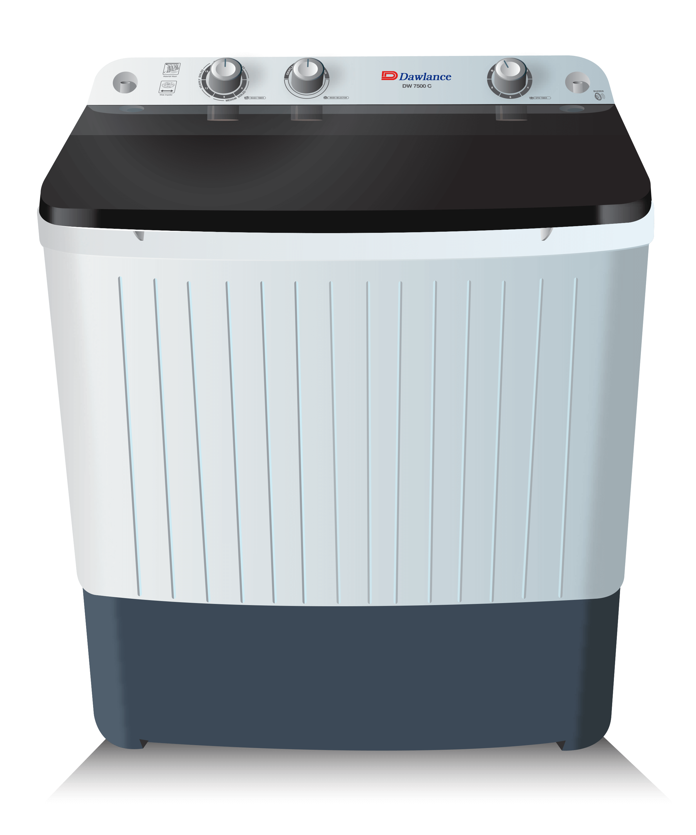 Dawlance Twin Tub Washing Machine DW7500 W 4
